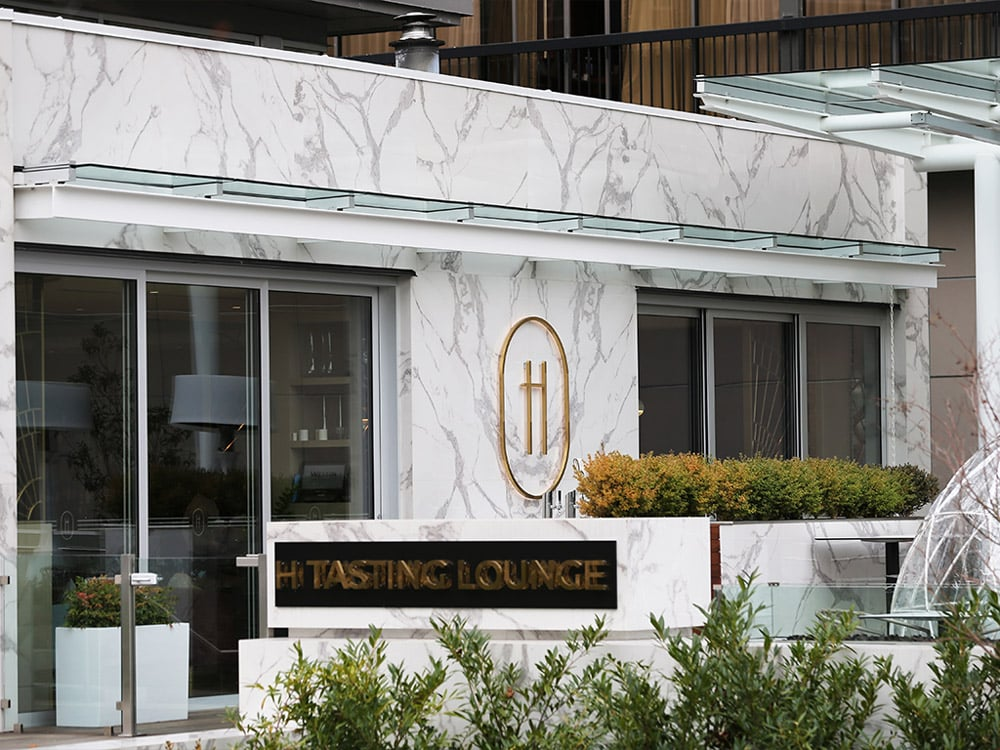 Exterior of H Tasting Lounge