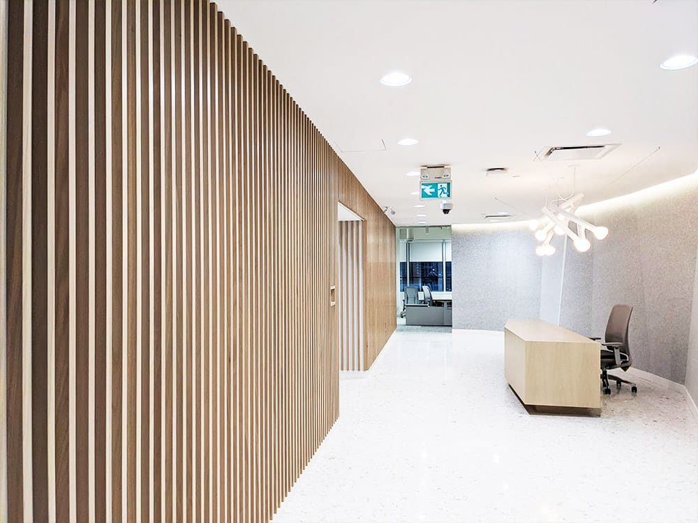 Feature wall cladding